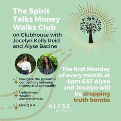 Spirit Talks Money Walks Clubhouse