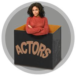 Actors out the box! Clubhouse