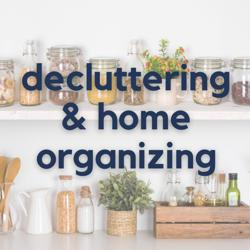 Decluttering And Home Organizing Clubhouse