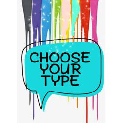 Choose your type motion Clubhouse