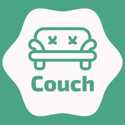 کاناپه   Couch Clubhouse