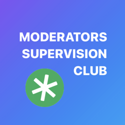 MODERATORS SUPERVISION Clubhouse