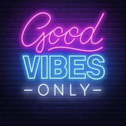 Catch a Vibe not an Attitude Clubhouse