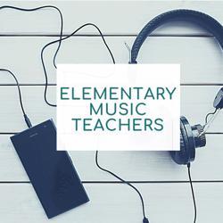 Elementary music teachers  Clubhouse