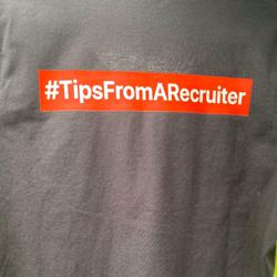 #TipsFromARecruiter Clubhouse