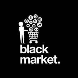 Black Market by direction branding Clubhouse