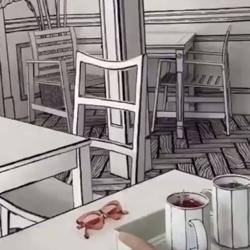مقهى الصالون الثقافي Clubhouse