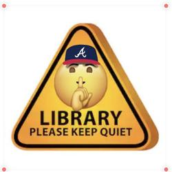 silent library Clubhouse