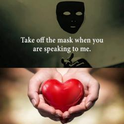 Mask off heart out Clubhouse