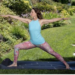 Vibrant Yoga Woman Clubhouse