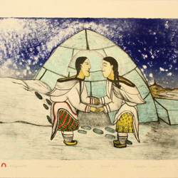 Inuit Throat-singing Clubhouse