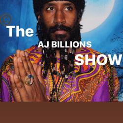 the AJ BILLIONS show Clubhouse