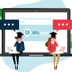 """EFL here"" گفتگوی انگلیسی Clubhouse"