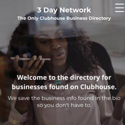 3DAYNETWORK Clubhouse