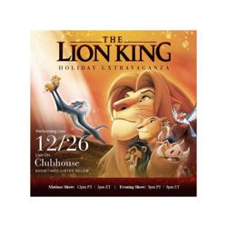 Lion King Musical Clubhouse