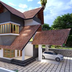 KERALA HOME DESIGN (AEC) Clubhouse