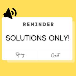 SOLUTIONS ONLY! Clubhouse