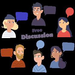 Free discussion/ بحث آزاد Clubhouse