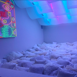 pillow room Clubhouse
