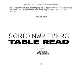 SCREENWRITERS TABLE READ Clubhouse