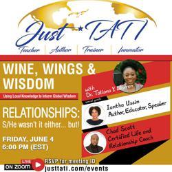 Wine, Wings, & Wisdom Clubhouse