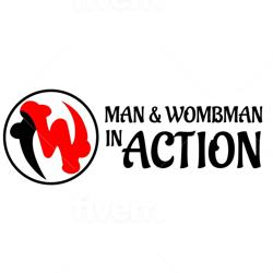 Man & Wombman In Action Clubhouse