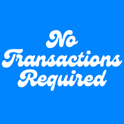 No Transactions Required Clubhouse
