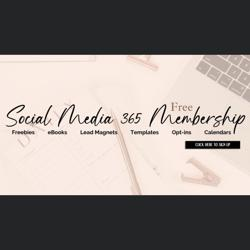 Social Media 365 Membership Clubhouse